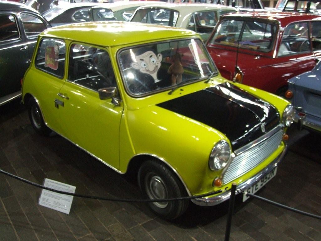 Kleurplaat Auto Mr Bean Idee 235 N Over Kleurpagina S Voor